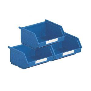 Lot 50 bacs à bec 0.25 litre bleu