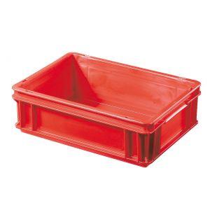Bac plastique rouge Europe 10 litres 400x300 mm