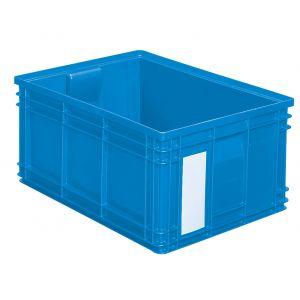 Bac plastique 85 litres bleu