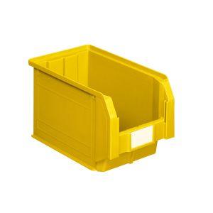 Bac à bec plastique 12.5 litres jaune