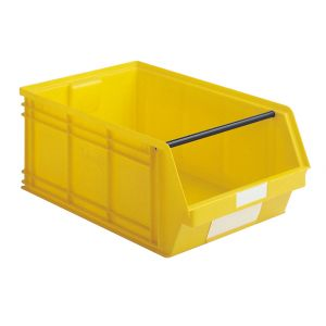 Bac plastique à bec 88 litres jaune