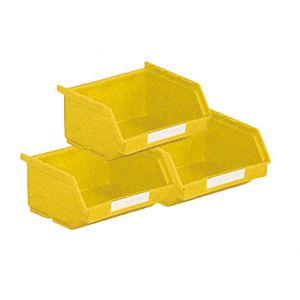 Lot 50 bacs à bec 0.25 litre jaune
