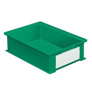 Bac rangement plastique 16.2 litres vert