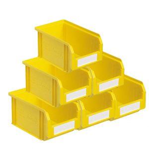 Bacs à bec plastique 3.8 litres jaune (Lot de 54)