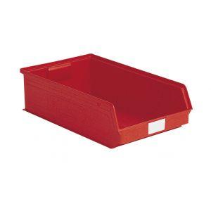 Bac a bec 20 litres plastique rouge