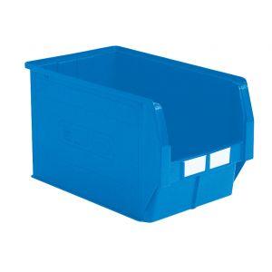 Bac plastique à bec 42 litres bleu