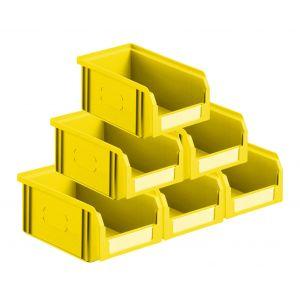Lot 50 bacs à bec 1 litre jaune
