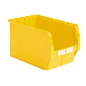 Bac plastique à bec 42 litres jaune