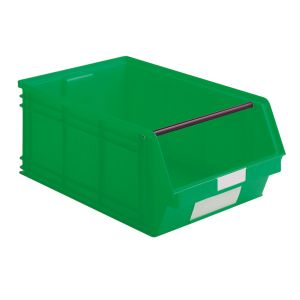 Bac plastique à bec volume 88 litres vert