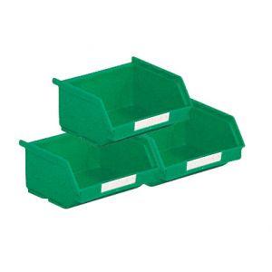Lot 50 bacs à bec 0.25 litre vert