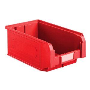 Bac à bec plastique 9 litres coloris rouge