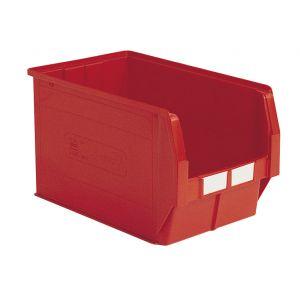Bac plastique à bec 42 litres rouge