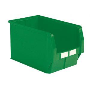 Bac plastique à bec 42 litres vert