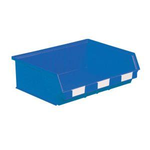 Bac à bec plastique 19 litres bleu