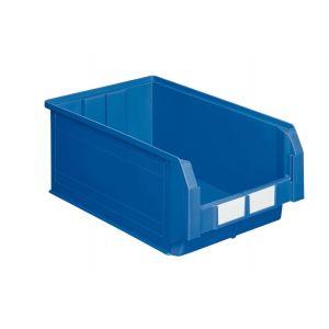 Bac plastique à bec 28 litres bleu