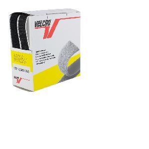 Ruban Velcro Adhesif NOIR, 20 mm, 5 M