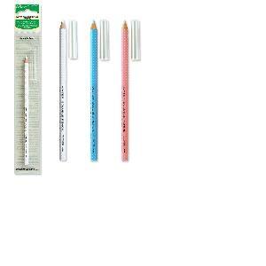 Crayon effaçable à l eau blanc, bleu ou rose