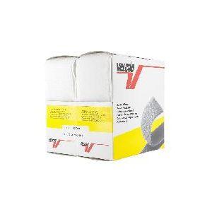 Ruban Velcro adhesif Blanc, 50 mm, 5 M