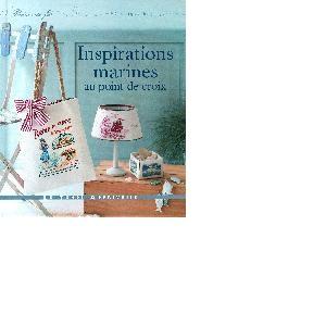 Inspirations marines au point de croix, livre