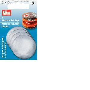 Disques métalliques Prym pour créer des Macarons
