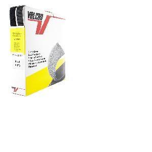 Ruban Velcro adhesif Noir, 25 mm, 25 M