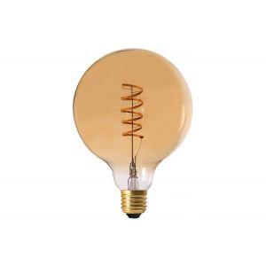 Ampoule Ambrée Globe SWAE Filament Spirale LED E27 2W
