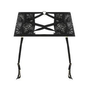 ATELIER AMOUR porte-jarretelles en dentelle Madame Rêve Noir - Taille S