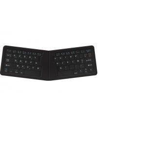 Accessoire pour Novodio Novodio Flip Board - Clavier AZERTY Bluetooth pliable iOS, Android, Mac, PC