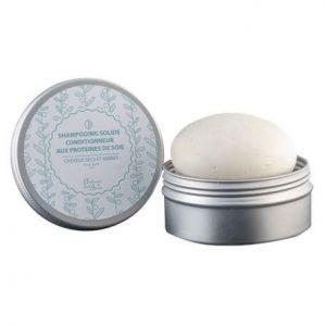 Shampooing solide Conditionneur aux Protéines de soie Autour du bain