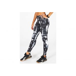 Reebok Workout Ready MYT AOP W vêtement running femme Noir - Taille S