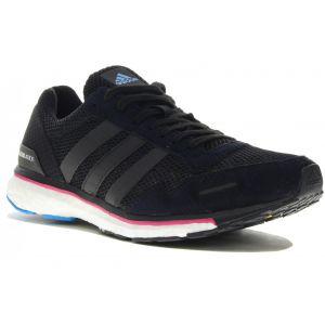 adidas adizero adios Boost 3 W Chaussures running femme Noir - Taille 38