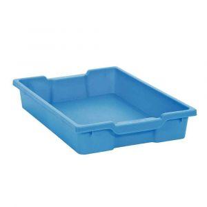 Bac en plastique petit modèle bleu