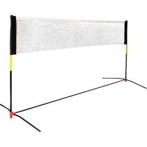 Filet de badminton avec son sac nylon