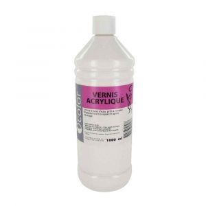 Vernis acrylique - Flacon de 1 litre