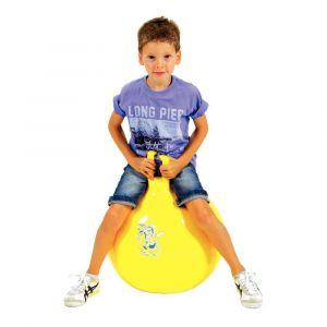 Ballon sauteur Oppy 5 jaune - Diamètre 50 cm