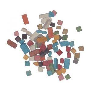Mini mosaïques antiques - 5x5 mm - Seau de 1kg