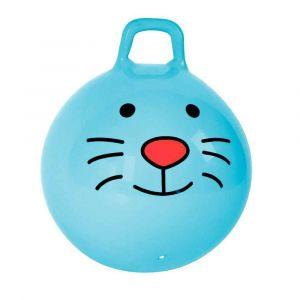 Ballon sauteur avec poignée - Bleu