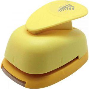 Perforateur déco 38mm fougère jaune