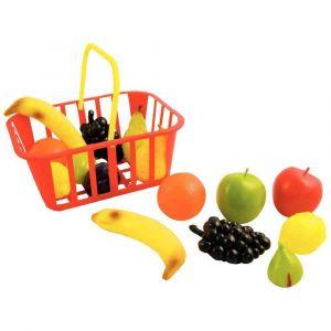 Panier de 15 fruits en plastique de taille réelle