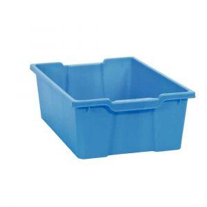 Bac en plastique grand modèle bleu