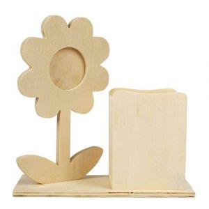 porte fleur en bois comparer 59 offres. Black Bedroom Furniture Sets. Home Design Ideas