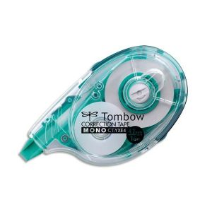 TOMBOW Roller de correction latéral rechargeable 4,2 mm x 16 m