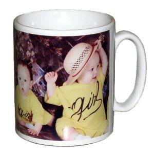 Mug photo Blanc personnalisé