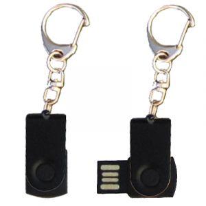 Mini porte-clés USB - 8Gb noir-noir