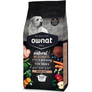 Croquettes Chien - Ownat Ultra Medium Light Dog  3kg
