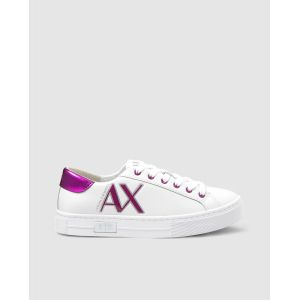 Chaussures sport  Armani Exchange cuir Blanc - Taille 39