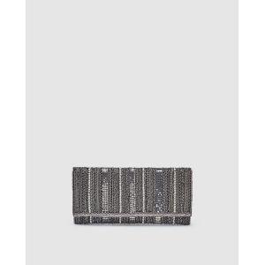 Sac pochette  Woman   pierres à motif Argent - Taille Única