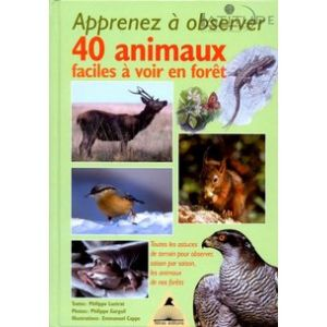 Guide APPRENEZ A OBSERVER 40 ANIMAUX