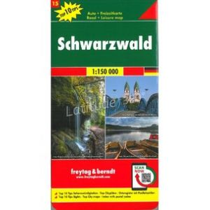 Carte FORET NOIRE / SCHWARZWALD