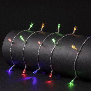 Guirlande lumineuse Timer 25 m Multicolore 250 LED Diamant CT